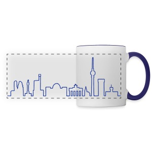 Skyline of Berlin - Panoramic Mug