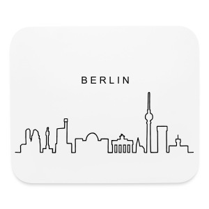 Skyline of Berlin - Mouse pad Horizontal