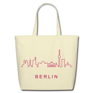 Skyline of Berlin - Eco-Friendly Cotton Tote