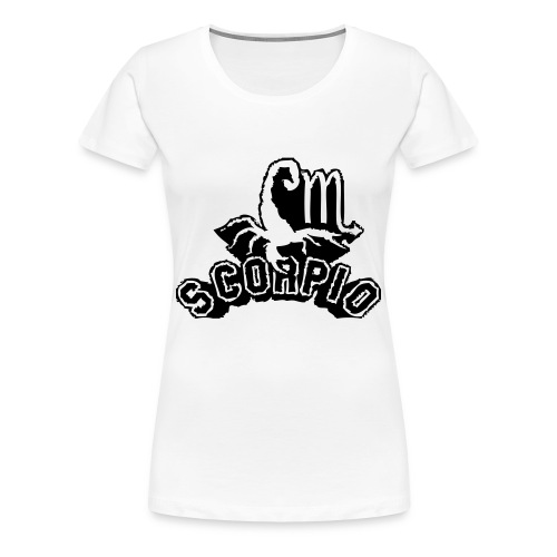 Women's Zodiac Scorpio Tee - Women's Premium T-Shirt