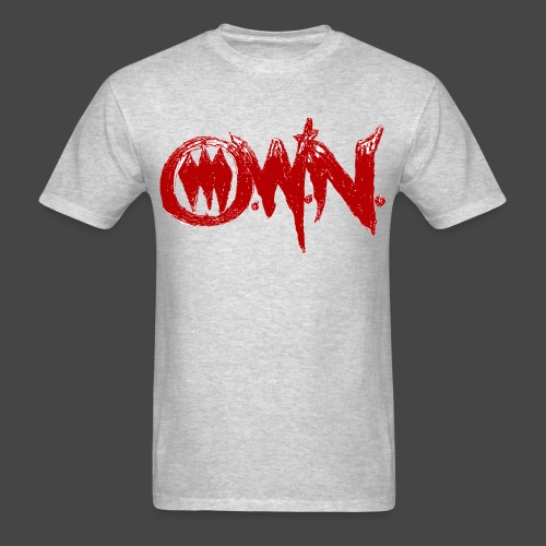Ultimate Warrior O.W.N. Blood Red Shirt - Men's T-Shirt