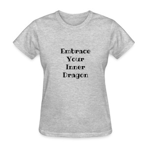 : Inner Dragon Diva - Women's T-Shirt