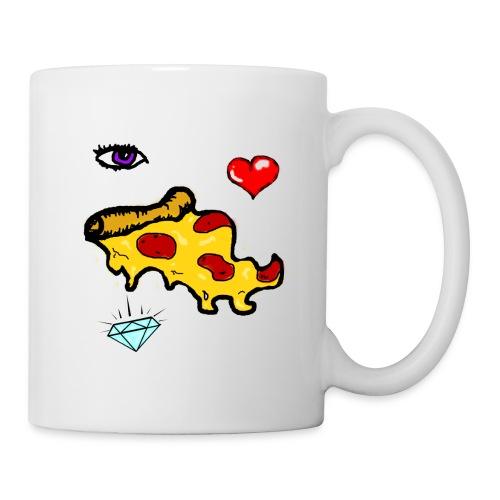 eye luv pizza (coffee cup) - Coffee/Tea Mug