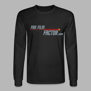 Fan Film Factor Long-sleeve - BLACK - Men's Long Sleeve T-Shirt