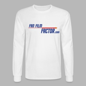 Fan Film Factor Long-sleeve - WHITE - Men's Long Sleeve T-Shirt