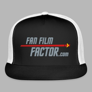 Fan Film Factor Cap - BLACK/WHITE - Trucker Cap