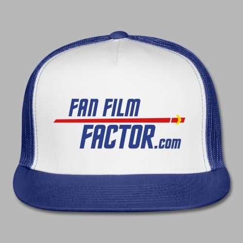 Fan Film Factor Cap - WHITE/BLUE - Trucker Cap