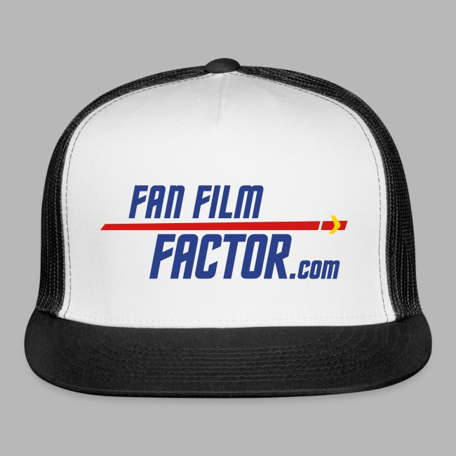 Fan Film Factor Cap - WHITE/BLUE