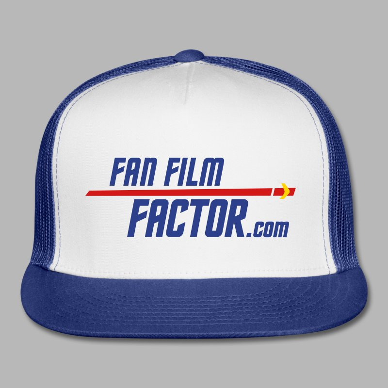 Fan Film Factor Cap - WHITE/BLUE - Trucker Cap