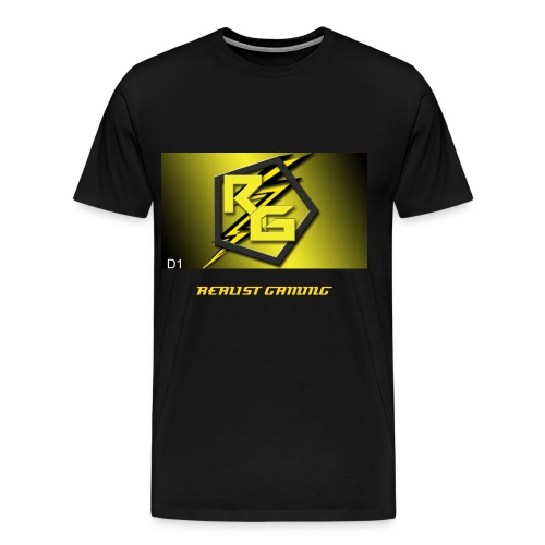 RealistGaming Day One(D1) edition shirt - Men's Premium T-Shirt
