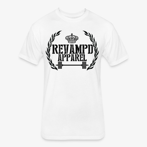 Revampd Logo Tee - Fitted Cotton/Poly T-Shirt by Next Level