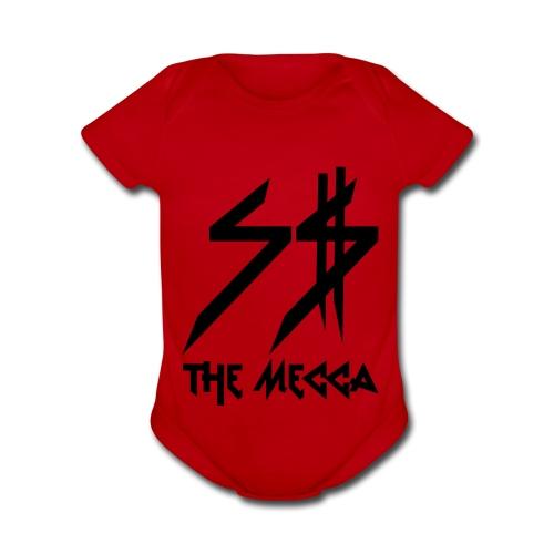 Baby Mecca 1-pce - Organic Short Sleeve Baby Bodysuit