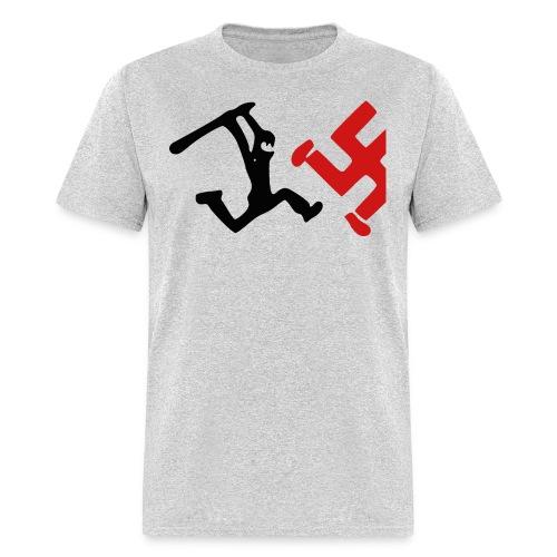 Bash a Nazi - Men's T-Shirt