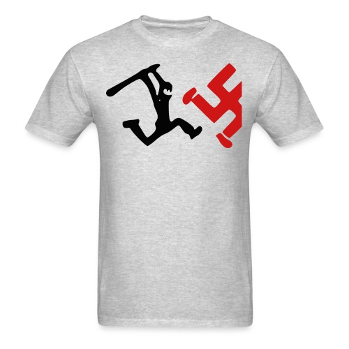 Bash a Nazi - Men's T-Shirt
