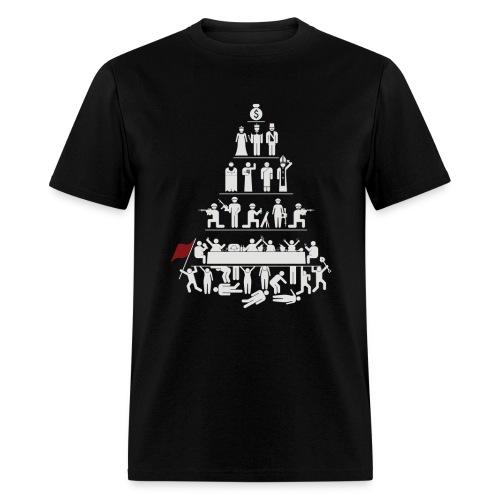Capitalism Sucks - Men's T-Shirt