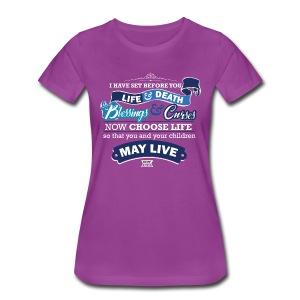 Deut 30-19 Women's Premium T-Shirt - Women's Premium T-Shirt