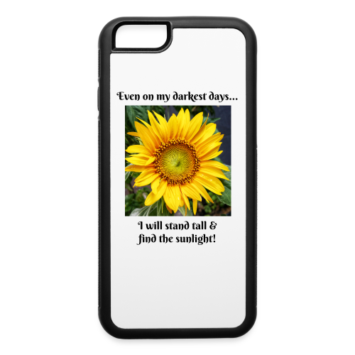 Sunflower Photo Cellphone case - iPhone 6/6s Rubber Case