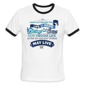Deut 30-19 Men's Ringer T-Shirt - Men's Ringer T-Shirt