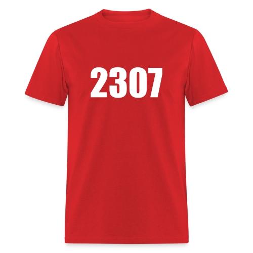 Men's Basic 2307 Red - Men's T-Shirt