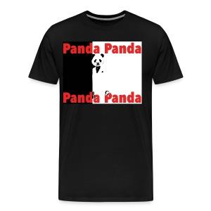 Pandaface - Men's Premium T-Shirt