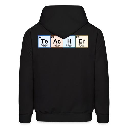 Periodic Table Chemistry Teacher - Men's Hoodie