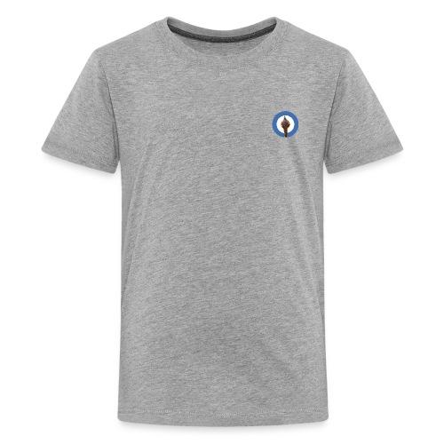 Kids Spear Ripple Logo  - Kids' Premium T-Shirt