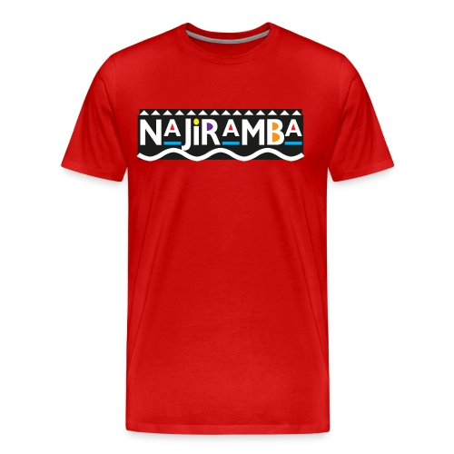 Daily Mantra (red) - Men's Premium T-Shirt
