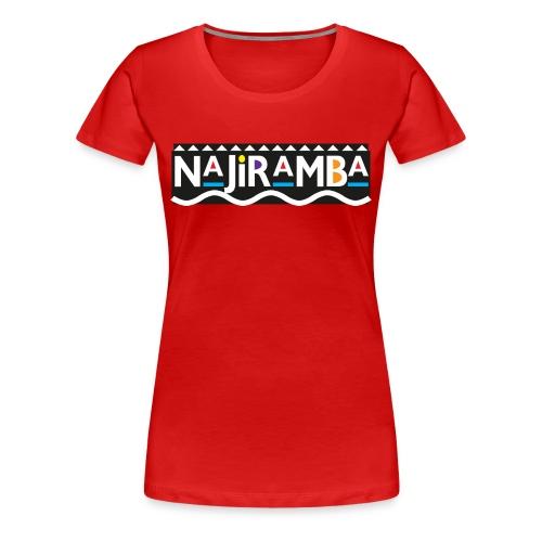 Daily Mantra (red) - Women's Premium T-Shirt