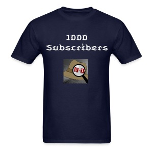 N-D 1000 Subscribers - Men's T-Shirt
