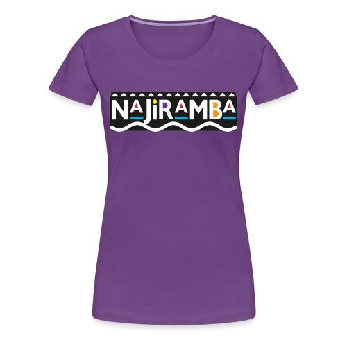 Daily Mantra (purp) - Women's Premium T-Shirt