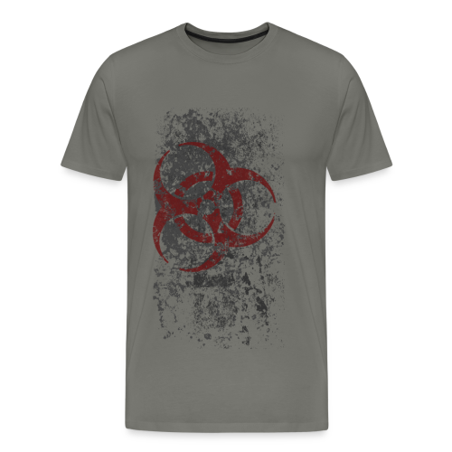 WASTELAND GEAR: BIOHAZARDOUS T-SHIRT - Men's Premium T-Shirt