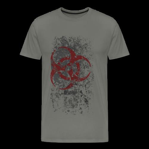 WASTELAND GEAR: BIOHAZARDOUS T-SHIRT - Men's Premium T-Shirt