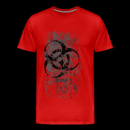 WASTELAND GEAR: BIOHAZARDOUS ALT T-SHIRT - Men's Premium T-Shirt