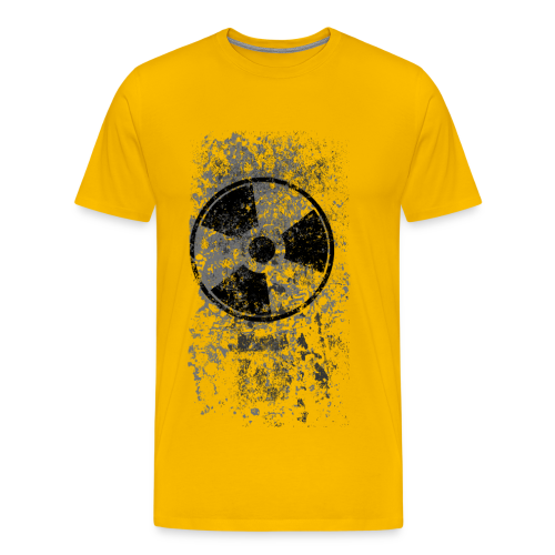 WASTELAND GEAR: RADIOACTIVE ALT T-SHIRT - Men's Premium T-Shirt