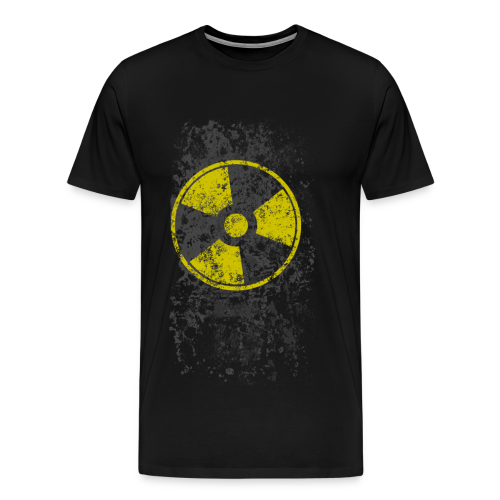 WASTELAND GEAR: RADIOACTIVE T-SHIRT - Men's Premium T-Shirt