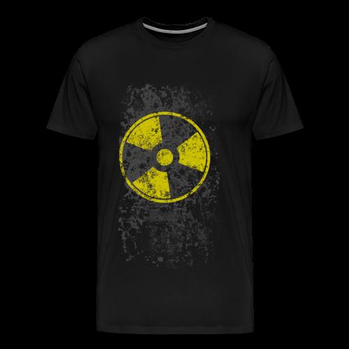 WASTELAND GEAR: RADIOACTIVE T-SHIRT - Men's Premium T-Shirt