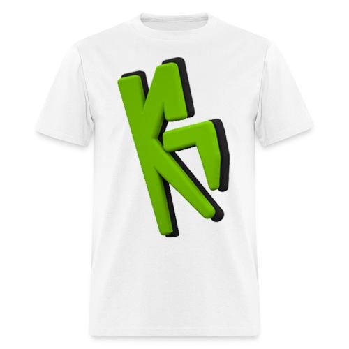 KrMa Gaming White Shirt - Men's T-Shirt