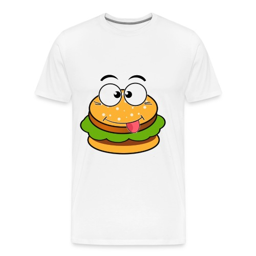 BasicBurger Gaming Logo Shirt - Men's Premium T-Shirt