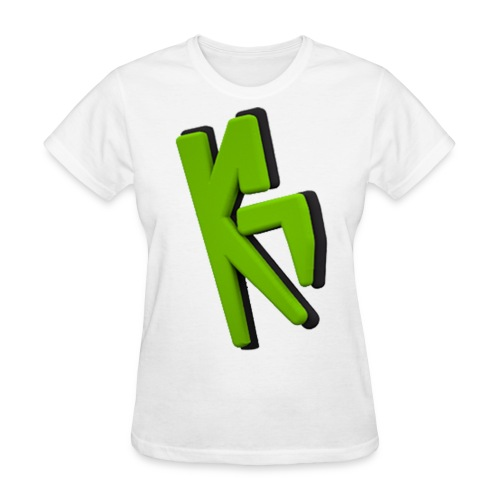KrMa Gaming White Shirt - Women's T-Shirt