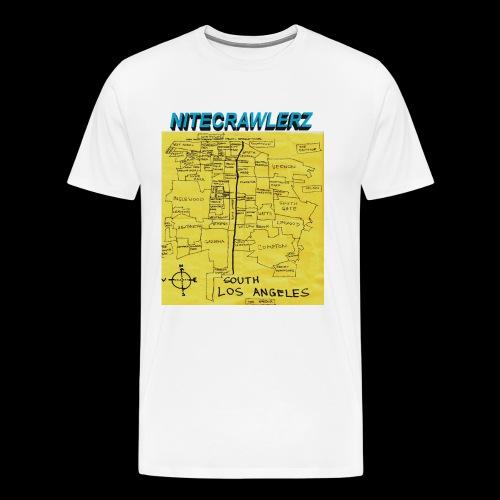 $OUTH LA MAP TEE - Men's Premium T-Shirt