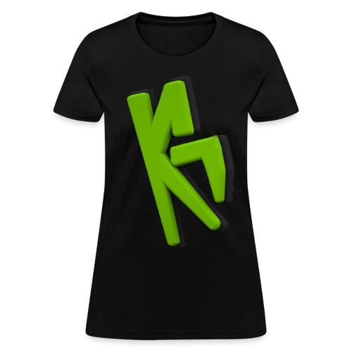 KrMa Gaming Black Shirt - Women's T-Shirt