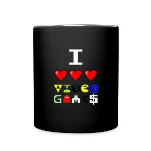 I love video games - Full Color Mug