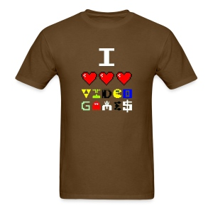 I love video games - Men's T-Shirt