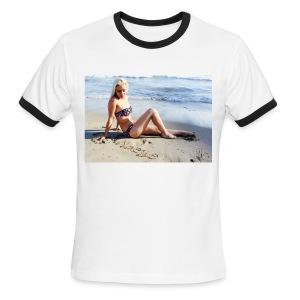Men's Noelle Fink 2016 Summer Photo T-Shirt - Men's Ringer T-Shirt