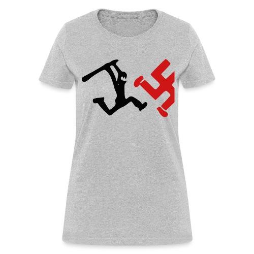 Women - Bash Nazis! - Women's T-Shirt