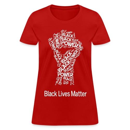 Women - Powerfist - Women's T-Shirt