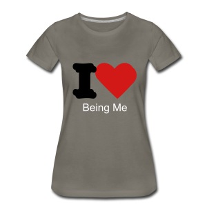 being me - Women's Premium T-Shirt