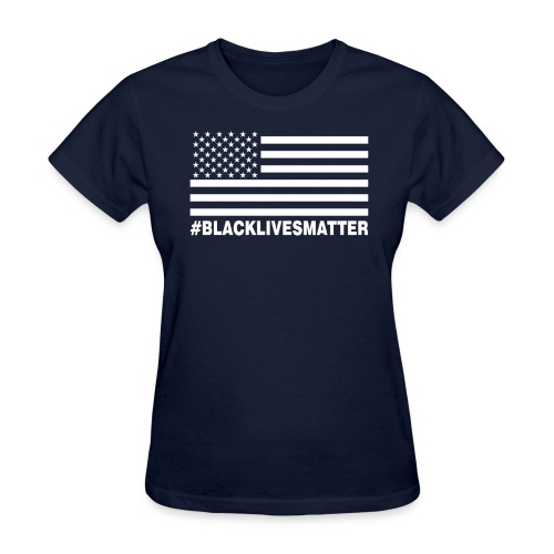 Women - Black America - Women's T-Shirt