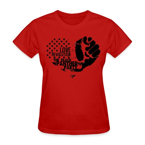 Women - Black Panther Love - Women's T-Shirt