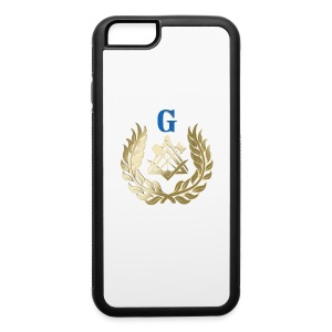Golden masonry symbol Phone & Tablet Cases - iPhone 6/6s Rubber Case